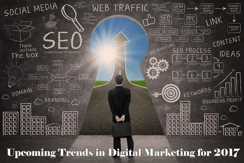 Upcoming Trends in Digital Marketing for 2017