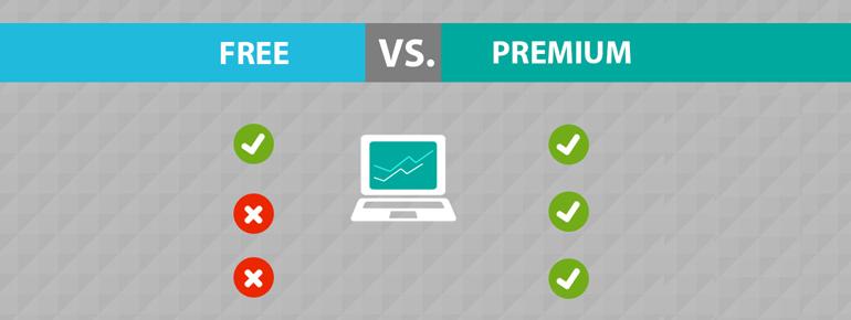 WordPress plugin's – Free Vs Premium