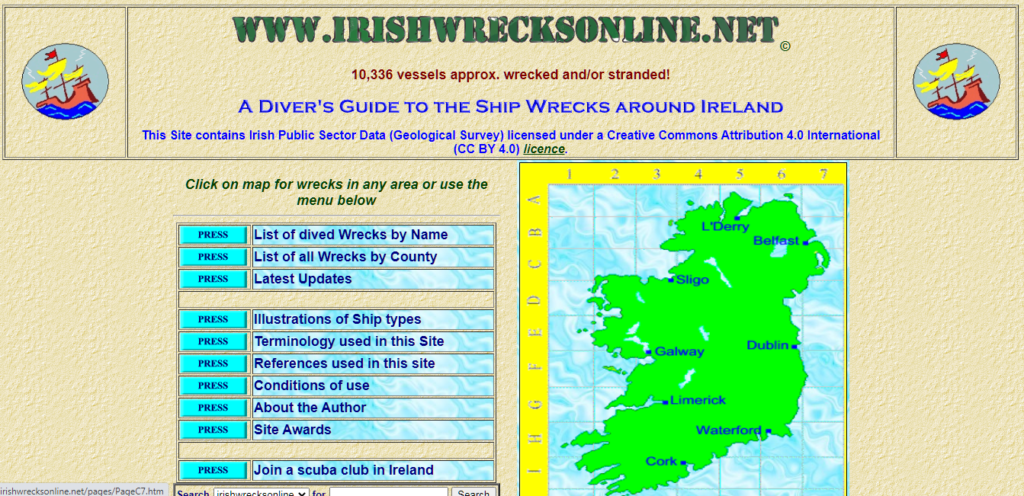 Irish Wrecks Online