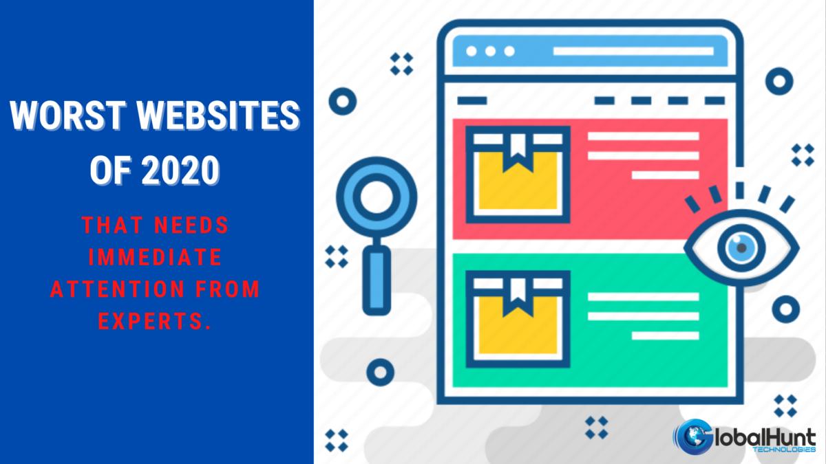 Worst Websites of 2020