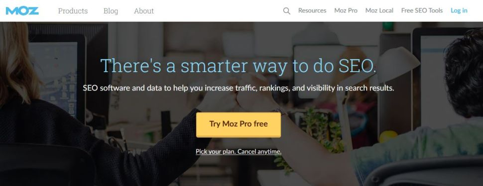 Moz Pro SEO tool