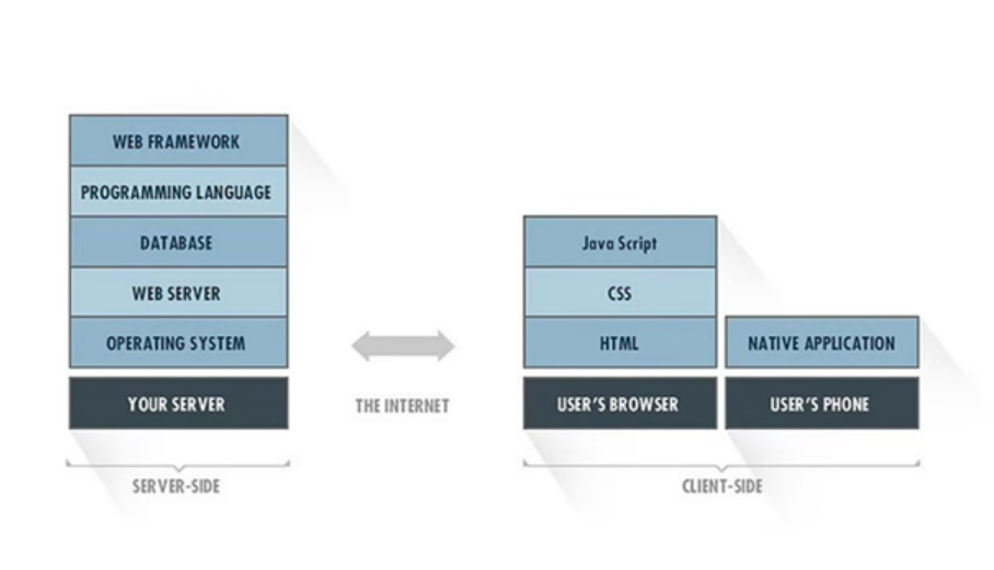 Components of Technology Stack for Web Development
