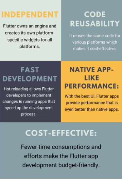 benefits of Flutter for mobile app development
